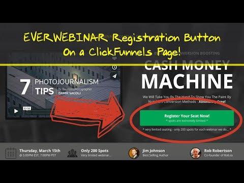 EverWebinar & ClickFunnels - The PERFECT Auto Webinar Funnel