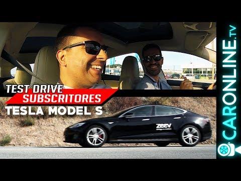 TESLA MODEL S - NUNCA tinham ANDADO num CARRO ELÉCTRICO! [Review Portugal]