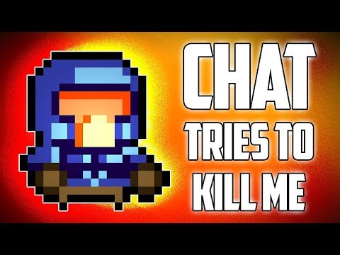 Chat Tries to Kill Me - Hutts Streams Enter the Gungeon