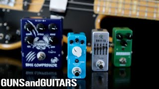 These cheap BASS EFFECTS are actually AWESOME!