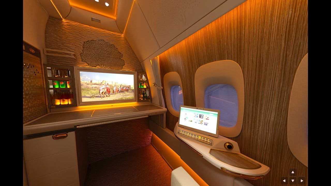 New Emirates First Class Suite Boeing 777 Emirates