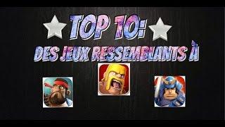 Top 10 Des Jeux Ressemblants à Clash Of Clans
