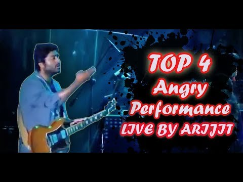 TOP 4 ANGRY LIVE PERFORMANCE BY ARIJIT SINGH - OMG..! Arijit singh angry😡😡🤔🙂