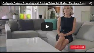 Calligaris Dakota Extending and Folding Table, fci Modern Furniture Store