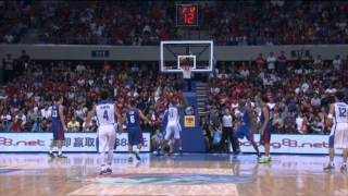 #FIBAAsia - Day 3: Philippines v Chinese Taipei (Assist of the game - J. ALAPAG)