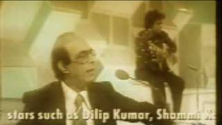 Talat Mahmood Live (rare footage) Meri Yaad mein by Music n Chilli