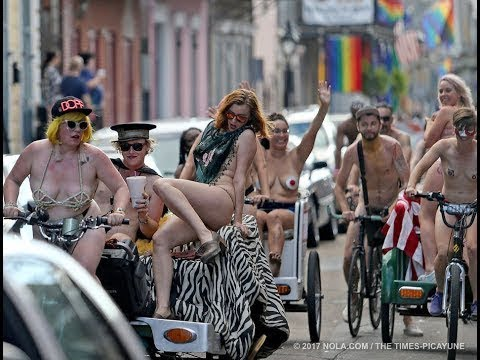 World Naked Bike Ride 2017 l Body Painting l Batala Salonica Thessaloniki 2017 l Editin