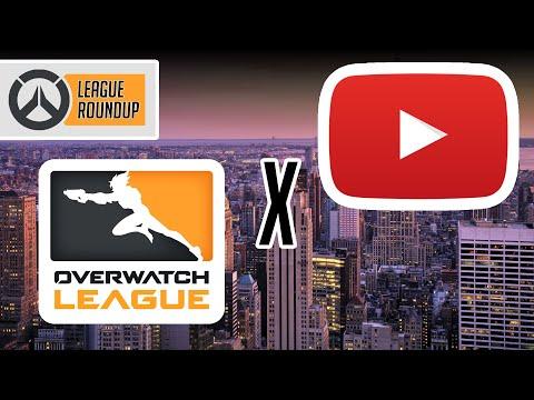 OWL X YOUTUBE!!!!!!! - Overwatch League Roundup 2020 News Update
