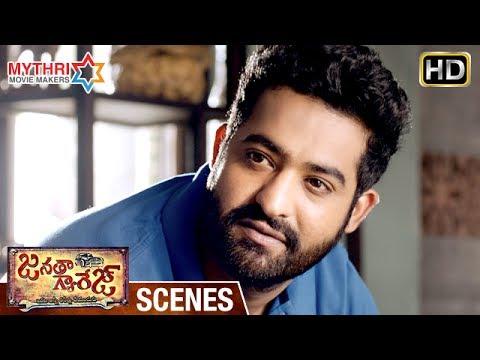Jr NTR Emotional Dialogues about Nature | Janatha Garage Telugu Movie Scenes | Samantha | Mohanlal