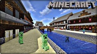 【マインクラフト】和風な町並みの作り方【建築】