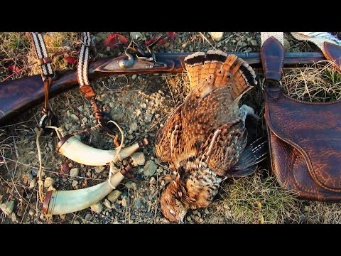 Flintlock Fowler Grouse Hunting - Muzzleloader 2014