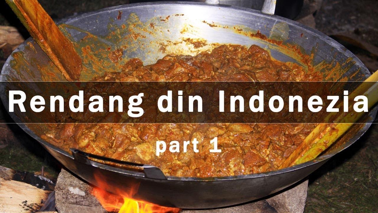 Rendang Padang si alte mancaruri indoneziene - part 1 - ingrediente si preparare