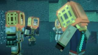 Minecraft: Story Mode - Season 2 Episode 1 Heroes in Residence - Sea Temple