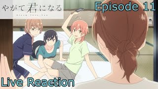 [Reaction+Commentary] Yuu and Nanami Romance Anime Episode 11