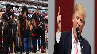Trump Wants Black NFL Players Fired For Protesting