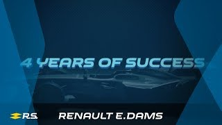 Renault e.dams : 4 years of success