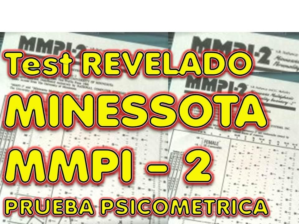 Minessota Ii Mmpi 2 Secretos Revelados Examen Laboral Youtube