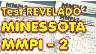 MINESSOTA II - MMPI 2 , SECRETOS REVELADOS examen laboral