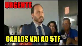 """""""EXPLOD1U"""" CARLUXO AGORA NA PORTA DO 5TF EXIGINDO EXPLICAÇÕES DE FREIXO"""