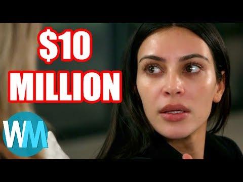 Top 10 Costliest Celebrity Robberies