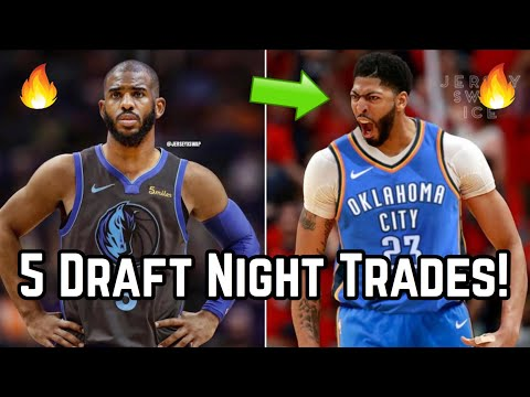 5 Blockbuster Trades That Would SHAKE UP the 2019 NBA Draft! | Los Angeles Lakers Trade For Picks?