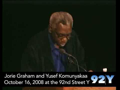 Jorie Graham and Yusef Komunyakaa at the 92nd Street Y