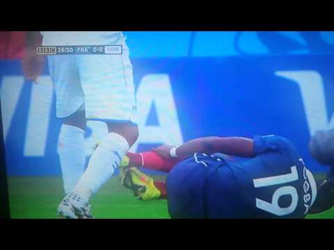 Wilson Palacios Golden Dive V France