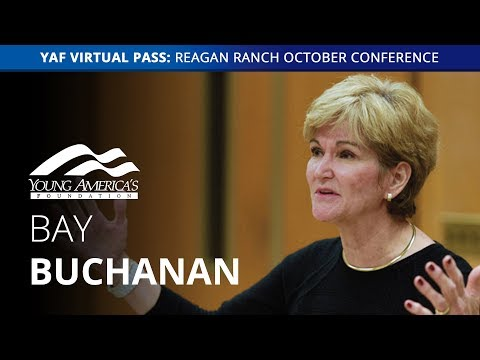 Bay Buchanan LIVE at Reagan Ranch October Conference
