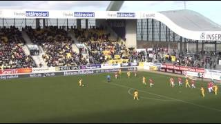 15. marts 2014: AC Horsens - Vejle Boldklub 5-0