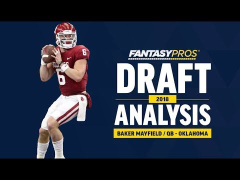 Baker Mayfield 2018 NFL Draft Analysis