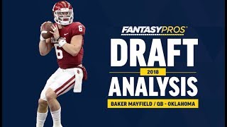 Baker Mayfield 2018 NFL Draft Analysis