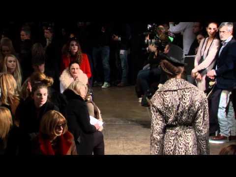 Donna Karan Fall 2012 Runway Show