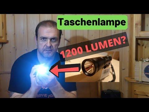 Prepper Taschenlampe mit 1200 Lumen?
