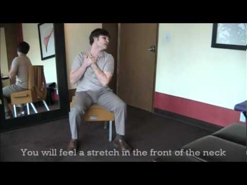 West Hollywood Chiropractic: Stretches for Scalene  Muscles to Relieve Neck  Pain