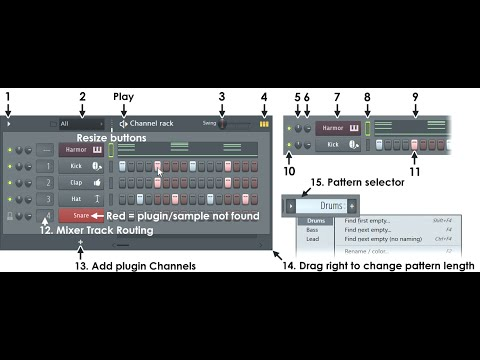 2) Fl Studio Bangla Tutorial (Channel Rack) With Sample Music