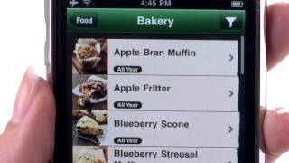 Starbucks app - iPhone App Demo by iPhoneAppDemos.tv