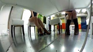 会議中の女子社員のパンチラは撮影できるのか?/「とびだせ!ゴキブリーズ!vol.48」