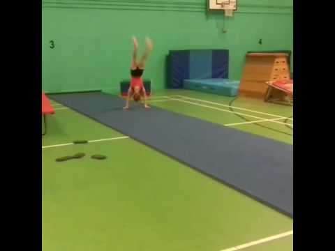 Round off 4 flicks/backhandsprings