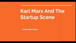 Karl Marx And The Startup Scene thumbnail