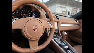 PORSCHE BOXSTER DRIVE AND REVIEW