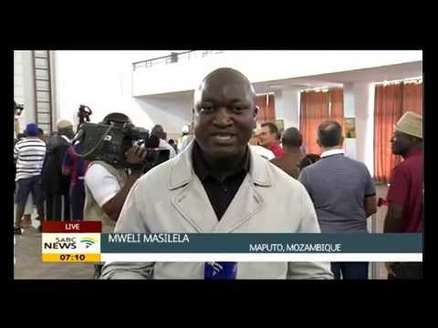 President Armando Guebuza has cast his vote, Mweli Masilela reports