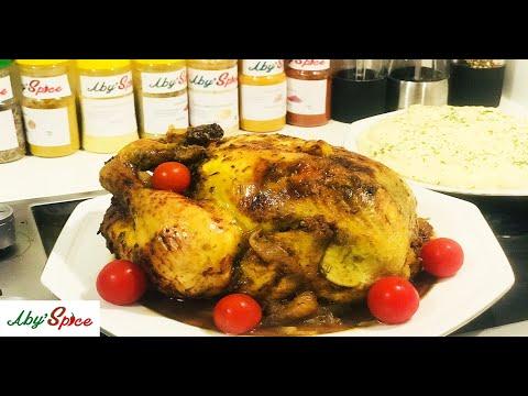 pour-un-bon-repas-en-famille-!!-poulet-marinÉ-au-four-!😋spécial-fêtes-fin-d'année-🎄🎉avec-aby-spice