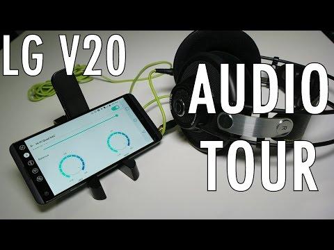 LG V20 Audio Tour: Quad DACs, New Microphones, It's LOUD!
