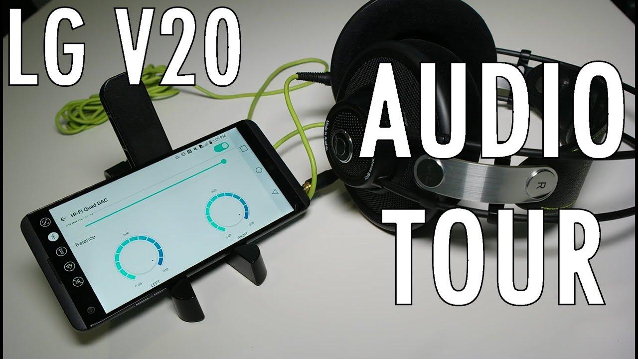 LG V20 Audio Tour: Quad DACs, New Microphones, It's LOUD!   Pocketnow