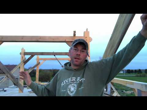 Tips For Timber Frame Braces When You're Working Alone