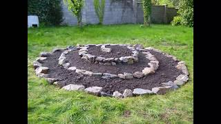 how to build a magick herb spiral bed step by step for free