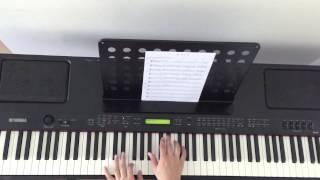 歲月如歌 (Piano Cover HD) 陳奕迅 Eason Chan