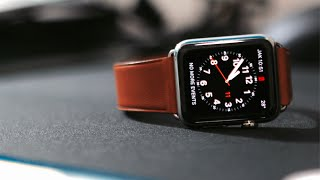 Unboxing Apple Watch 42mm With Saddle Brown Leather