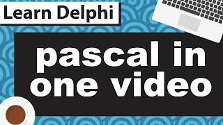 Delphi Pascal Programming