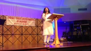 Thandi Raatein- (Hindi) Christmas Dandiya song by Kalpana Christian Sharma